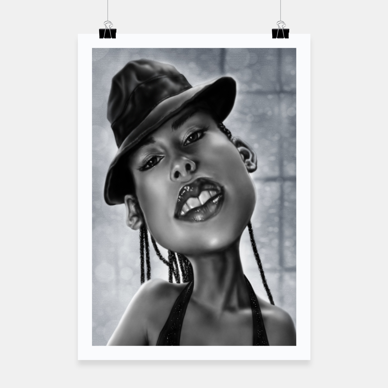 Image of Alicia Keys Poster - Live Heroes