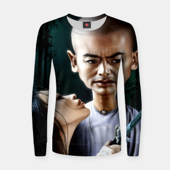 Thumbnail image of Chow Yun Fat Woman cotton sweater, Live Heroes