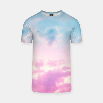 Thumbnail image of Unicorn Pastel Clouds #3 #decor #art  T-Shirt, Live Heroes