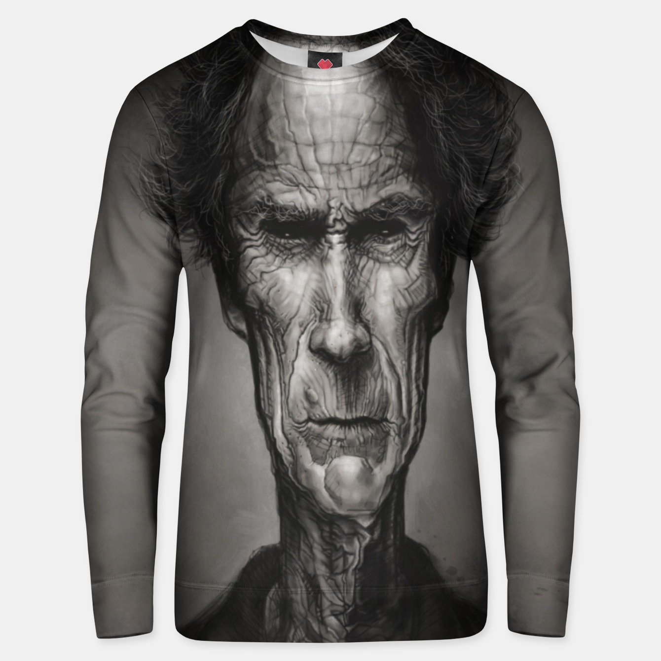 Image of Clint Eastwood Cotton sweater - Live Heroes