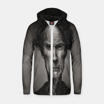 Thumbnail image of Clint Eastwood Cotton zip up hoodie, Live Heroes