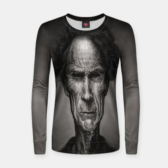Thumbnail image of Clint Eastwood Woman cotton sweater, Live Heroes