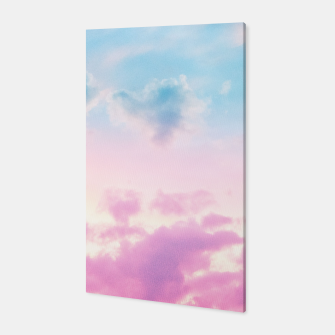 Thumbnail image of Unicorn Pastel Clouds #3 #decor #art  Canvas, Live Heroes