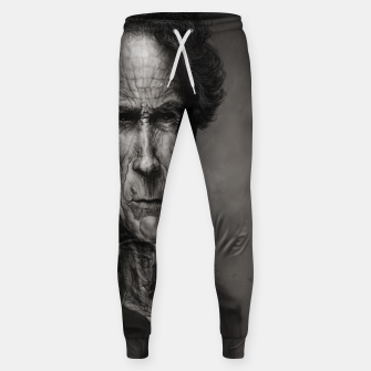 Thumbnail image of Clint Eastwood Cotton sweatpants, Live Heroes