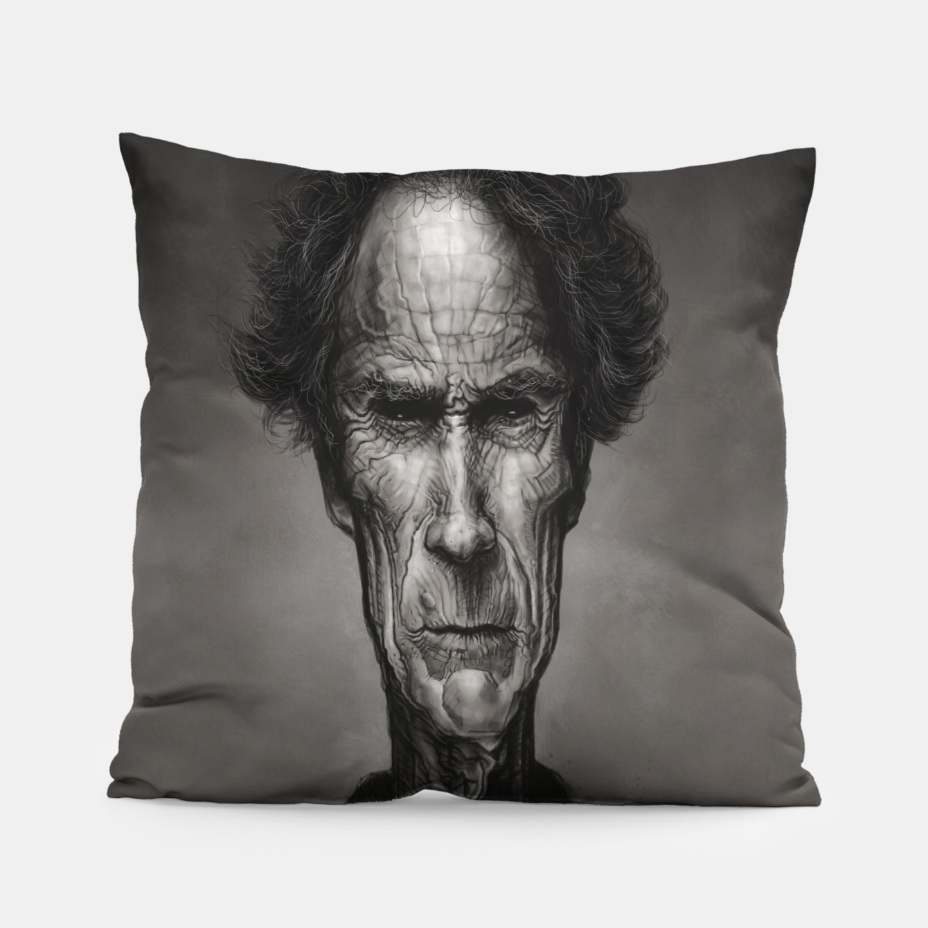 Image of Clint Eastwood Pillow - Live Heroes