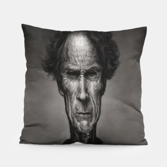 Thumbnail image of Clint Eastwood Pillow, Live Heroes