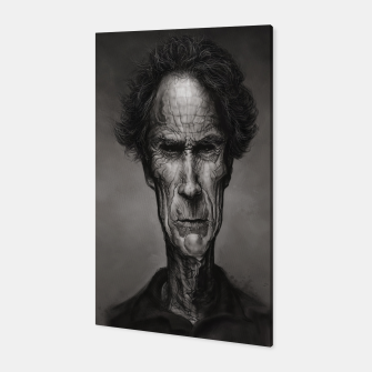 Thumbnail image of Clint Eastwood Canvas, Live Heroes
