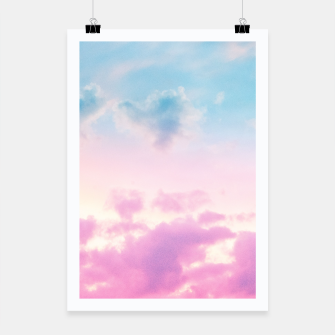 Thumbnail image of Unicorn Pastel Clouds #3 #decor #art  Plakat, Live Heroes