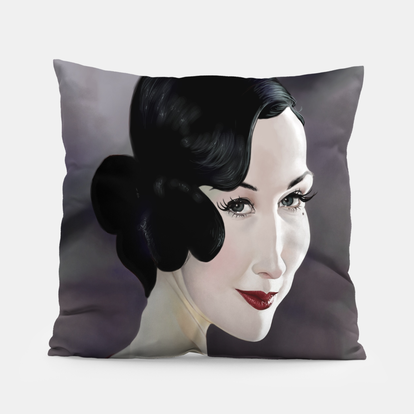 Image of Dita von Teese Pillow - Live Heroes