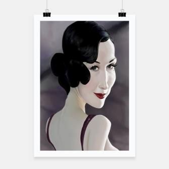 Thumbnail image of Dita von Teese Poster, Live Heroes
