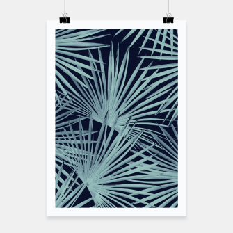 Thumbnail image of Tropical Fan Palm Leaves #6 #tropical #decor #art Plakat, Live Heroes