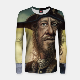 Thumbnail image of Geoffrey Rush Woman cotton sweater, Live Heroes
