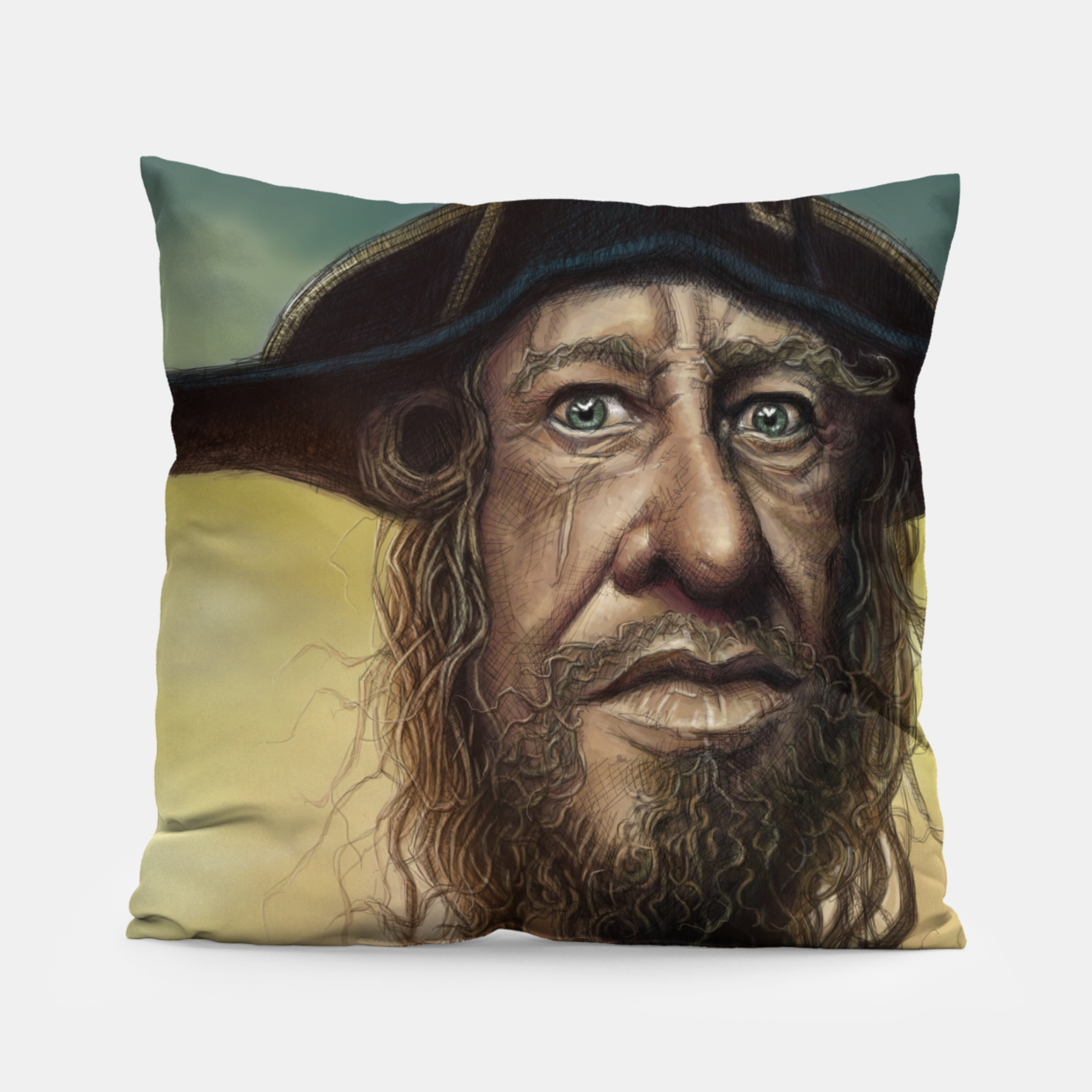 Image of Geoffrey Rush Pillow - Live Heroes