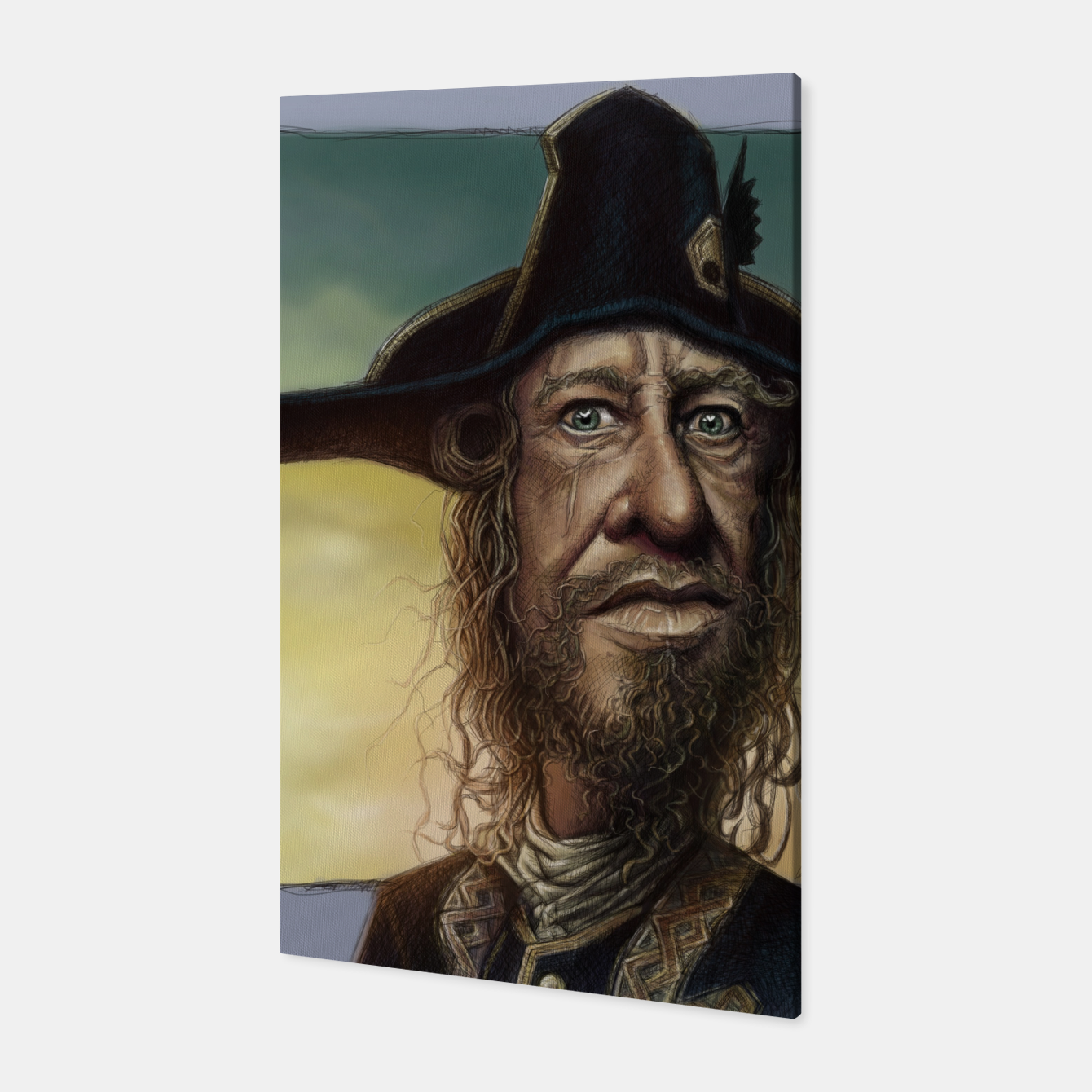 Image of Geoffrey Rush Canvas - Live Heroes