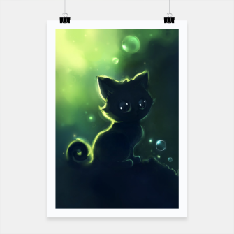 Thumbnail image of Magic Cat II Plakat, Live Heroes