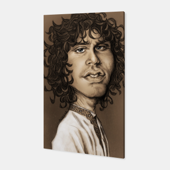 Thumbnail image of Jim Morrison Canvas, Live Heroes