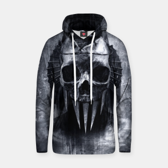 Thumbnail image of Cold Skull Hoodie, Live Heroes