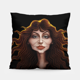 Thumbnail image of Kate Bush Pillow, Live Heroes