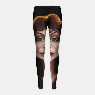 Kate Bush Girl's leggings thumbnail image