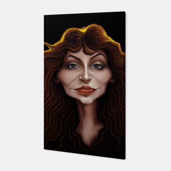 Thumbnail image of Kate Bush Canvas, Live Heroes