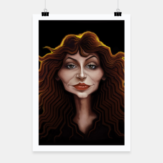 Thumbnail image of Kate Bush Poster, Live Heroes