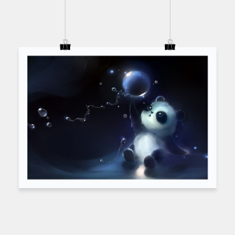 Thumbnail image of Magic Panda Plakat, Live Heroes