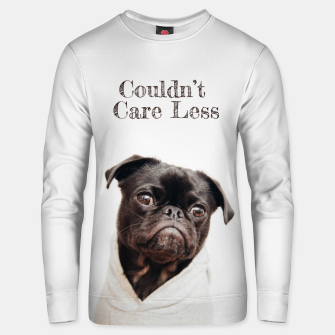 Thumbnail image of Don't Care Cotton sweater, Live Heroes