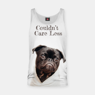 Thumbnail image of Don't Care Tank Top, Live Heroes