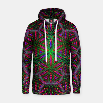 Thumbnail image of Trippy Baumwoll Kapuzenpullover, Live Heroes