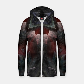 Thumbnail image of The GOA Realm Cotton zip up hoodie, Live Heroes