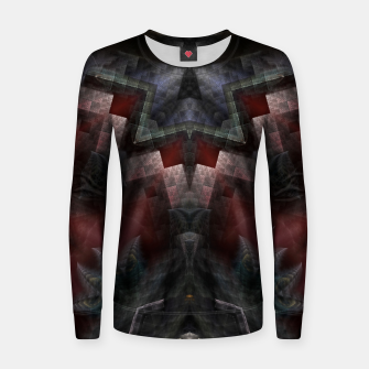 Thumbnail image of The GOA Realm Woman cotton sweater, Live Heroes