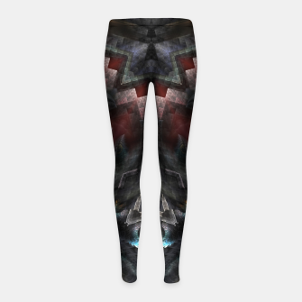 Thumbnail image of The GOA Realm Girl's leggings, Live Heroes