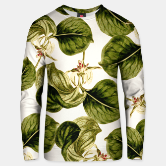 Thumbnail image of Botany Leaf Pattern Cotton sweater, Live Heroes