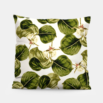 Thumbnail image of Botany Leaf Pattern Pillow, Live Heroes
