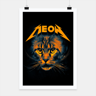 Miniatur Meow Poster, Live Heroes
