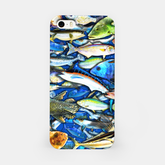 Thumbnail image of DEEP SALTWATER FISHING COLLAGE Carcasa por Iphone, Live Heroes