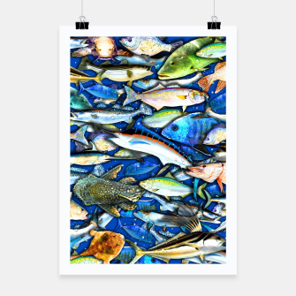 Thumbnail image of DEEP SALTWATER FISHING COLLAGE Cartel, Live Heroes