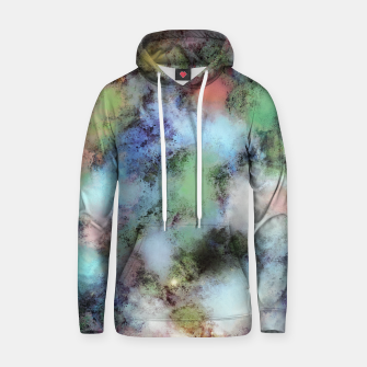 Thumbnail image of Disturbing the sky Cotton hoodie, Live Heroes