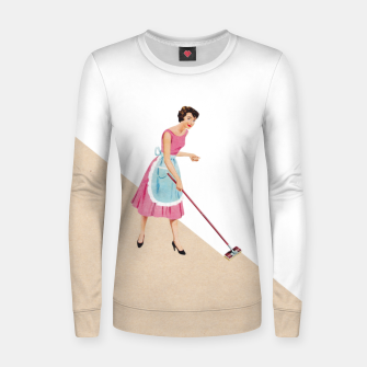 Miniaturka Clean up Woman cotton sweater, Live Heroes