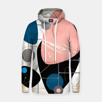 Thumbnail image of Mid Century Pebbles Cotton hoodie, Live Heroes