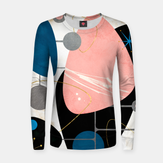 Thumbnail image of Mid Century Pebbles Woman cotton sweater, Live Heroes