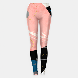 Thumbnail image of Mid Century Pebbles Leggings, Live Heroes