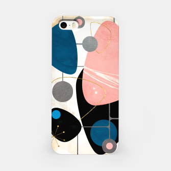 Thumbnail image of Mid Century Pebbles iPhone Case, Live Heroes