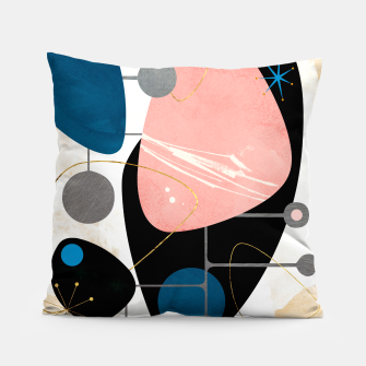 Thumbnail image of Mid Century Pebbles Pillow, Live Heroes