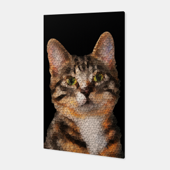 Thumbnail image of cat cats kitty Canvas, Live Heroes
