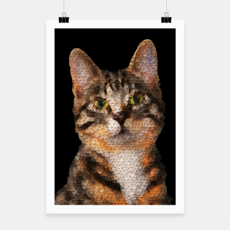 Thumbnail image of cat cats kitty Plakat, Live Heroes