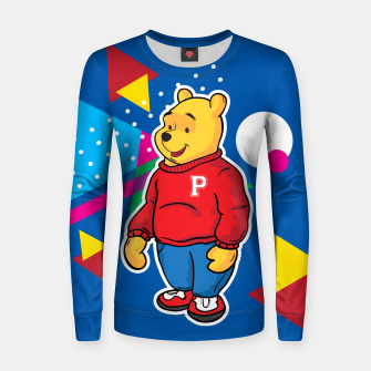 Thumbnail image of Pooh Woman cotton sweater, Live Heroes