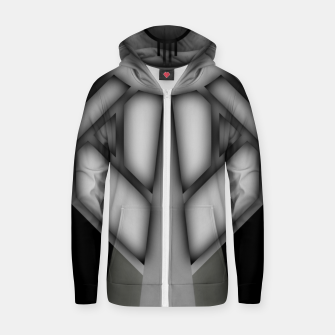 Thumbnail image of Deco Core Shadow Cotton zip up hoodie, Live Heroes