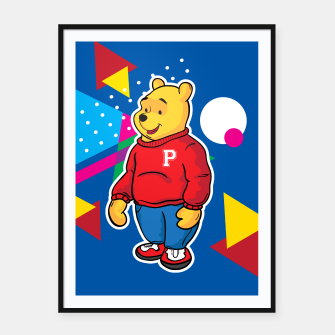 Thumbnail image of Pooh Framed poster, Live Heroes