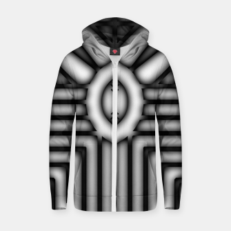 Thumbnail image of Shadow Core Cotton zip up hoodie, Live Heroes